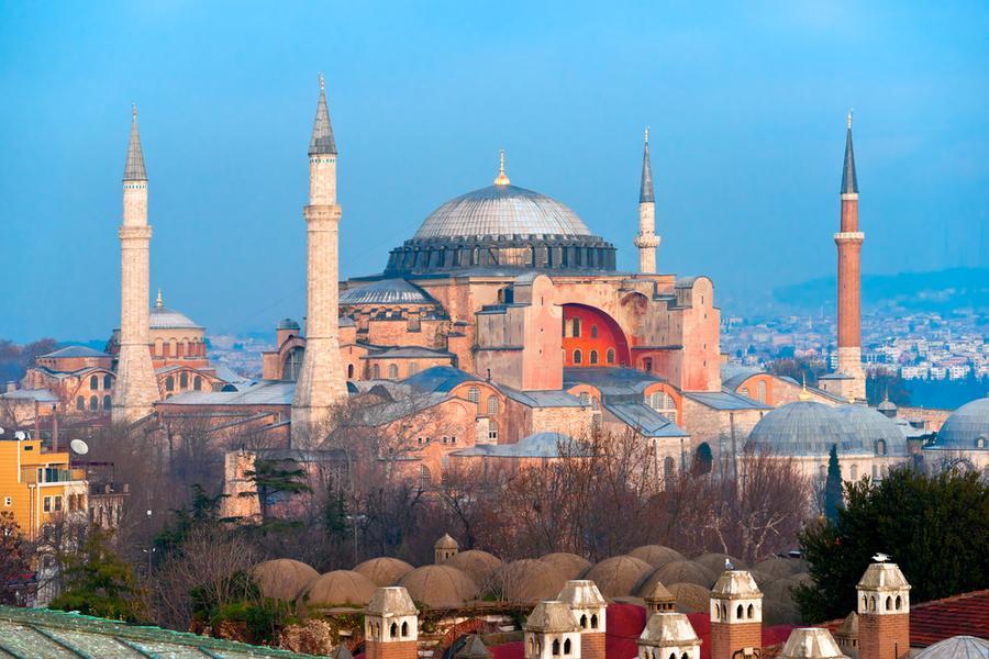 айя софия стала мечетью