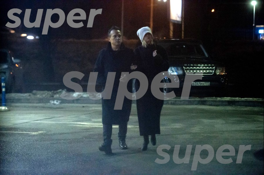 Полина Гагарина и Владимир Чиняев